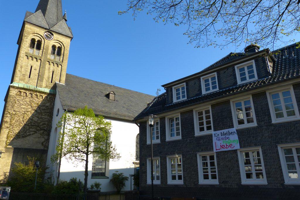 Osterhoffnung - gemeinsame Aktion in Burscheid